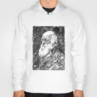 darwin Hoodies featuring 'Darwin' by Sarah King by We Are West Coast