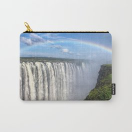 Victoria Falls , Africa, Zambia, Zimbabwe Carry-All Pouch