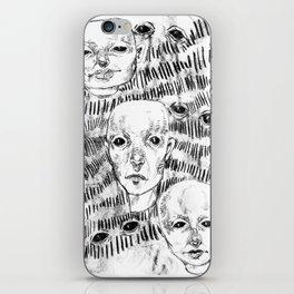 Triplets iPhone Skin