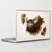squirrel Laptop & iPad Skins featuring Squirrel by Heaven7