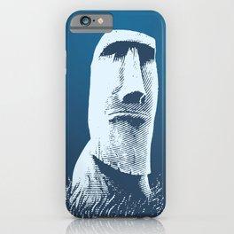 Moai #1 iPhone Case