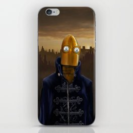 Steampunk Robot iPhone Skin