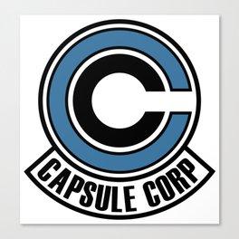 capsule corp logo Canvas Print