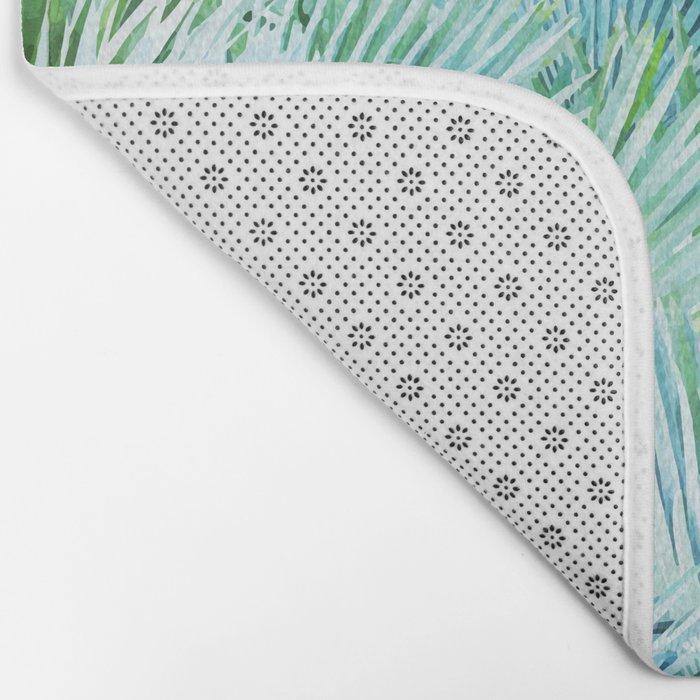 Palm Dreamer #society6 #decor #buyart Bath Mat