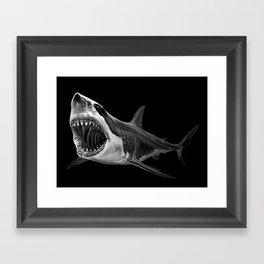 Great White Shark Framed Art Print