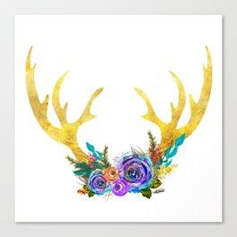 Garden of the Wild - ANTLERS Canvas Print