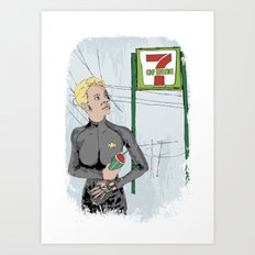 Resistance Is Futile Art Print