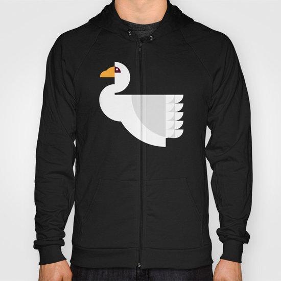 Geometric swan Hoody