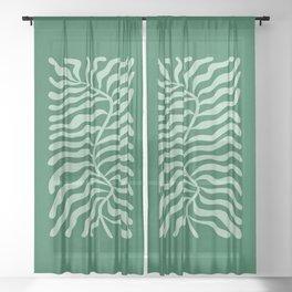 Fun Sage: Matisse Edition Sheer Curtain