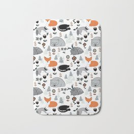 Woodland Nap Time Bath Mat