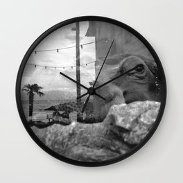 Hypo's View Wall Clock
