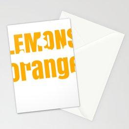 Inspiration If Life Gives You Lemons Make Orange Juice Stationery Cards