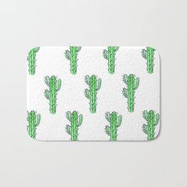 Saguaro Love II PATTERN Bath Mat