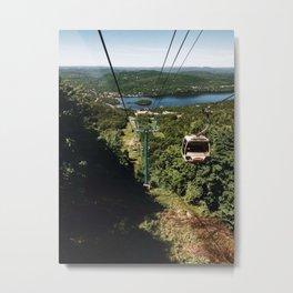 Gondola at Tremblant Metal Print