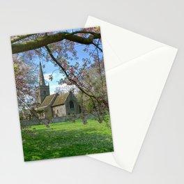 Cherry Blossom Church  Stationery Cards