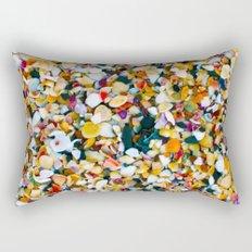 Crushed Sea Shells Rectangular Pillow