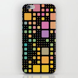 Pop Squares iPhone Skin