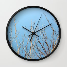 Winter Freeze Wall Clock