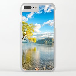 Lonely Tree In Lake Wanaka New Zealand Ultra HD Clear iPhone Case