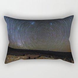 Circles of Stars Rectangular Pillow