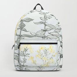 Growing up - floral Backpack