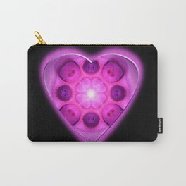 Glow Love Heart Carry-All Pouch