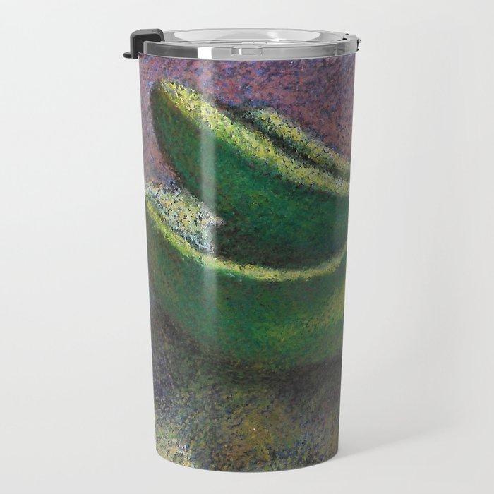Green bananas Travel Mug