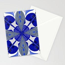 Don't Be Blue Mandala  Stationery Cards