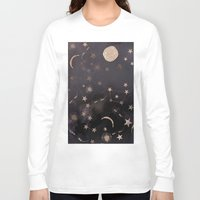 constellations Long Sleeve T-shirts featuring Constellations  by dreamshade