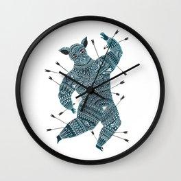Warrior Wall Clock