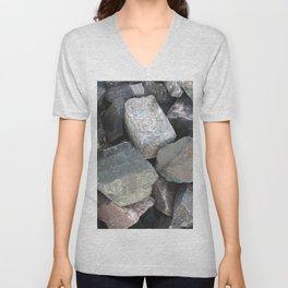 Texture #11 Stone Unisex V-Neck