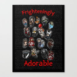 Horror Icon Awww-bominations Canvas Print