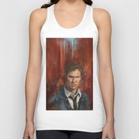 true detective Tank Tops featuring True Detective by LucioL