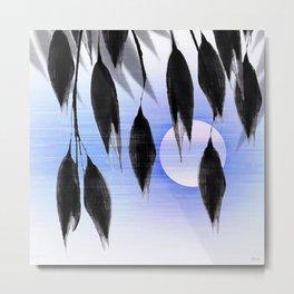 Beneath Shade, Moonglow Metal Print
