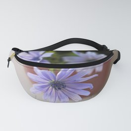 Purple wildflowers in cup Fanny Pack