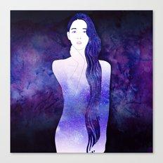 Velvet Echo Canvas Print