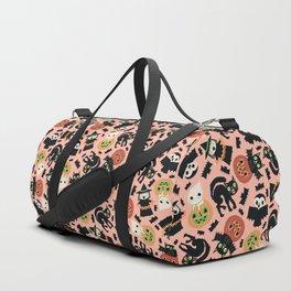 Halloween Gang Pink Duffle Bag