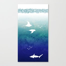 I Am The Sea Canvas Print