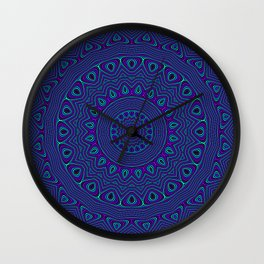 Trippy Kaleidoscope Wall Clock