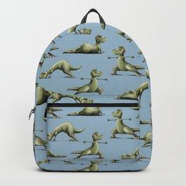 Yogasaurs (Blue) Backpack