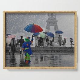 Bonjour Paris! Serving Tray