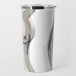 Nude Belly Travel Mug