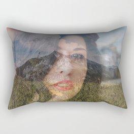Lisa Marie Basile, No. 69 Rectangular Pillow