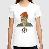 steve zissou T-shirts featuring Steve Zissou by Philipp Banken