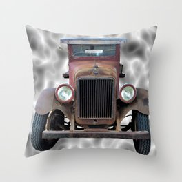 Grandad's Truck Throw Pillow