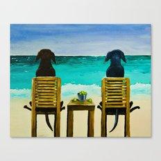 Beach Bums Canvas Print