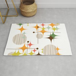 Starbursts and Globes 3A Rug