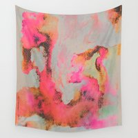 bright Wall Tapestries featuring Bright Day by Georgiana Paraschiv