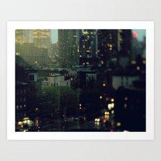 Manhattan Fall Art Print