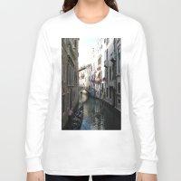 venice Long Sleeve T-shirts featuring Venice by Melia Metikos